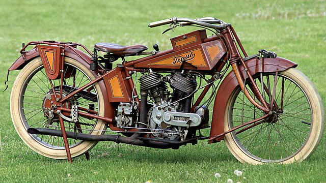 Mystery of the Traub Motorcycle