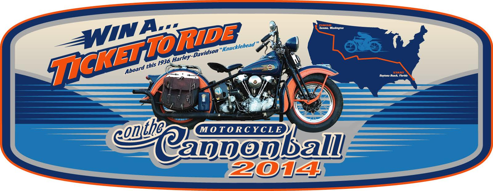 Win A Ride In The 2014 Motorcycle Cannonball