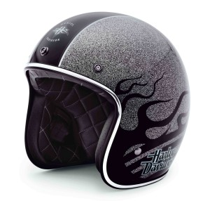 H-D Black Label Black Diamond Helmet PN97274-14VM