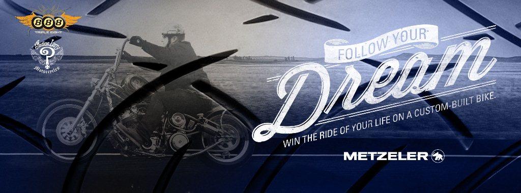 Metzeler Motorcycle Tires Helps Build Legendary Bike