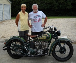 3 - Rider and Builder -- Dottie Mattern and Dennis Craig -- Ready to rumble.