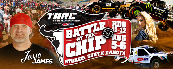 Jesse James Trades Two Wheels for Four to Race TORC in Sturgis