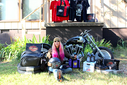 Winner of Garage-Girls 2014 Ultimate Biker Makeover (Sponsored by GEICO Motorcycle) Announced