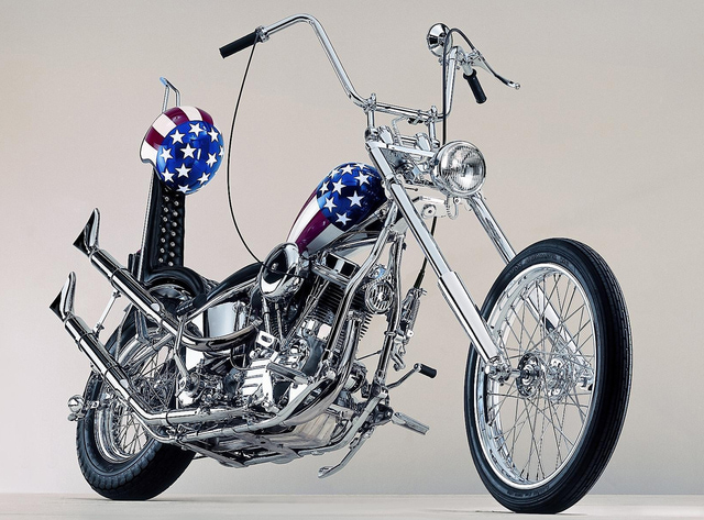 """Captain America"" Bike Sold"