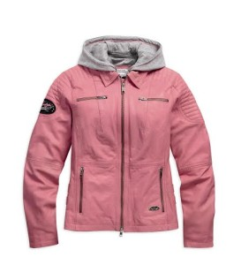 Women's Pink Pink Label 3-in-1 Leather Jacket