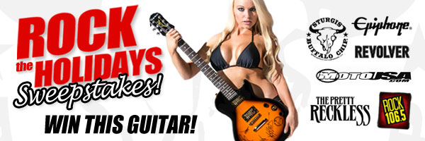 """Buffalo Chip """"Rock The Holidays"""" Sweepstakes"""