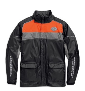 H-D ReflectiveMen's High Tail Rain