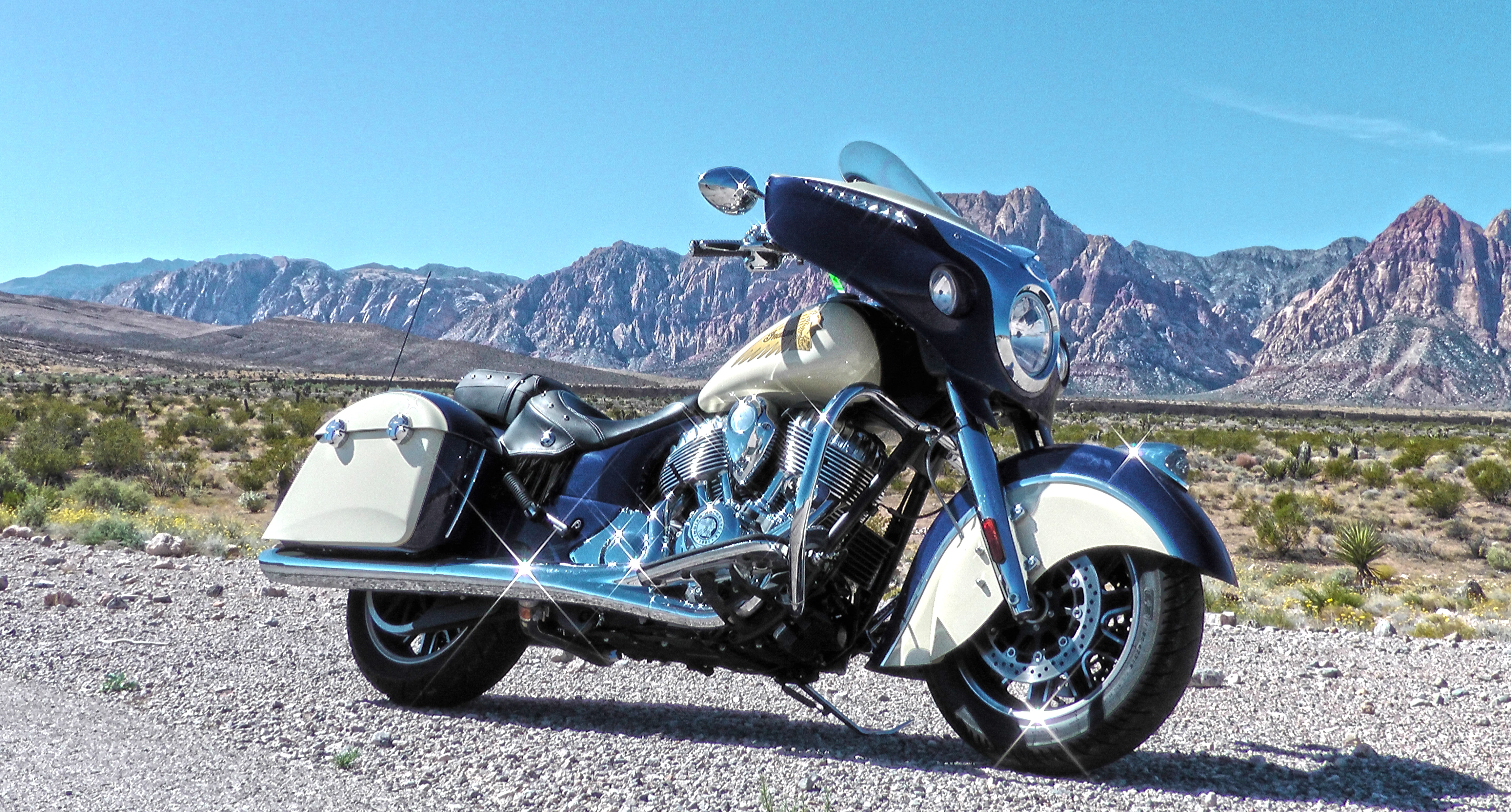 New York Only: See the Brand-New Custom Indian Chief Classic