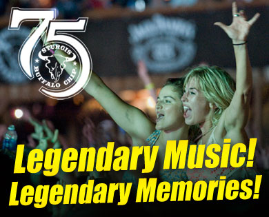 Sturgis Buffalo Chip Announces 4 Musical Legends for 75th Anniversary