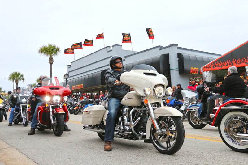 Hot Leathers Revs It Up At Daytona Bike Week 2015 As Official