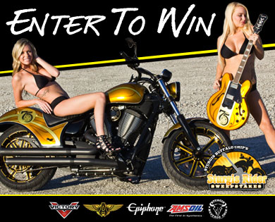 2015 Sturgis Rider® Sweepstakes Motorcycle and Guitar