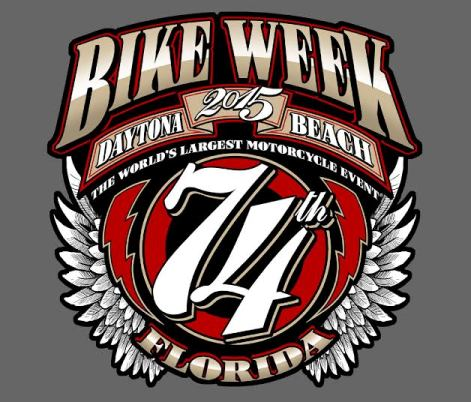 75th Anniversary Bike Week Logo Released