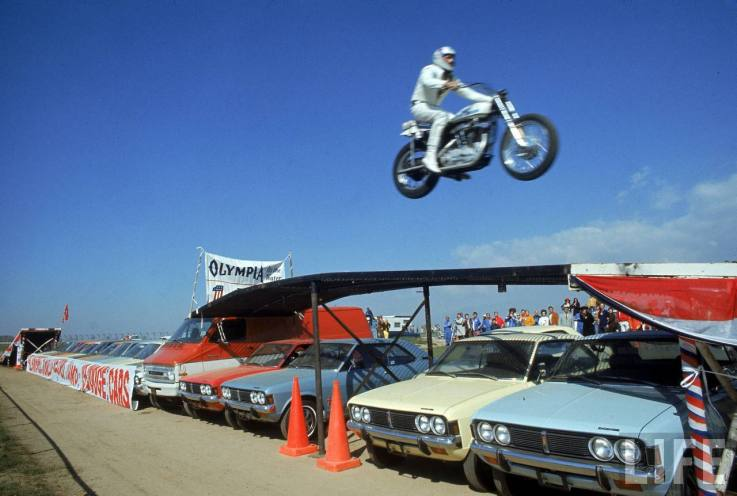 It's the Largest Evel Knievel Collection in the World!