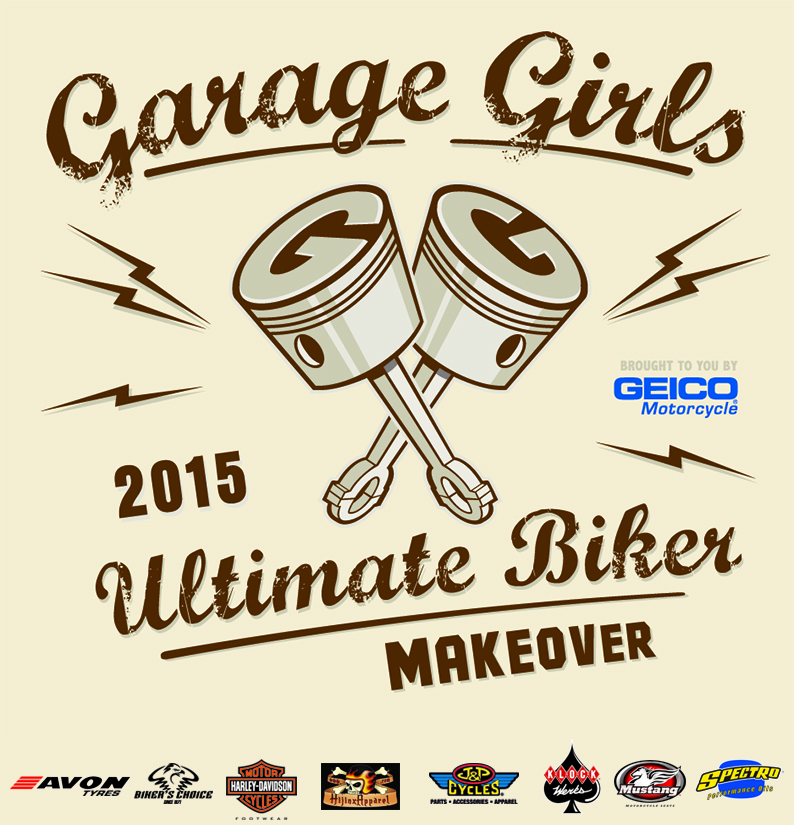 Garage-Girls Ultimate Biker Makeover Brought To You by GEICO Motorcycle for 2015!