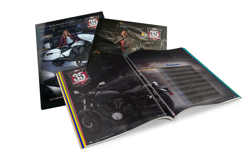 MUSTANG 35th ANNIVERSARY CATALOGS TAKE FLIGHT