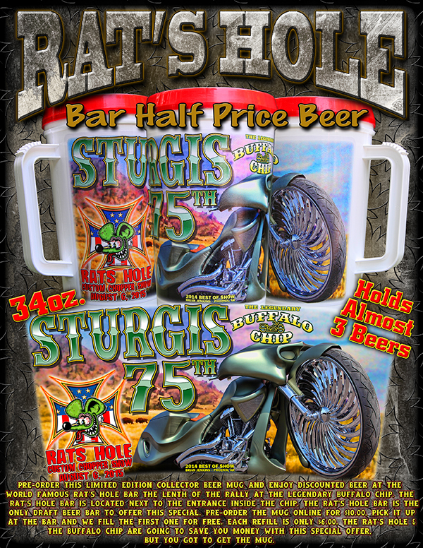 Sturgis 2015 Buffalo Chip mug Ad web