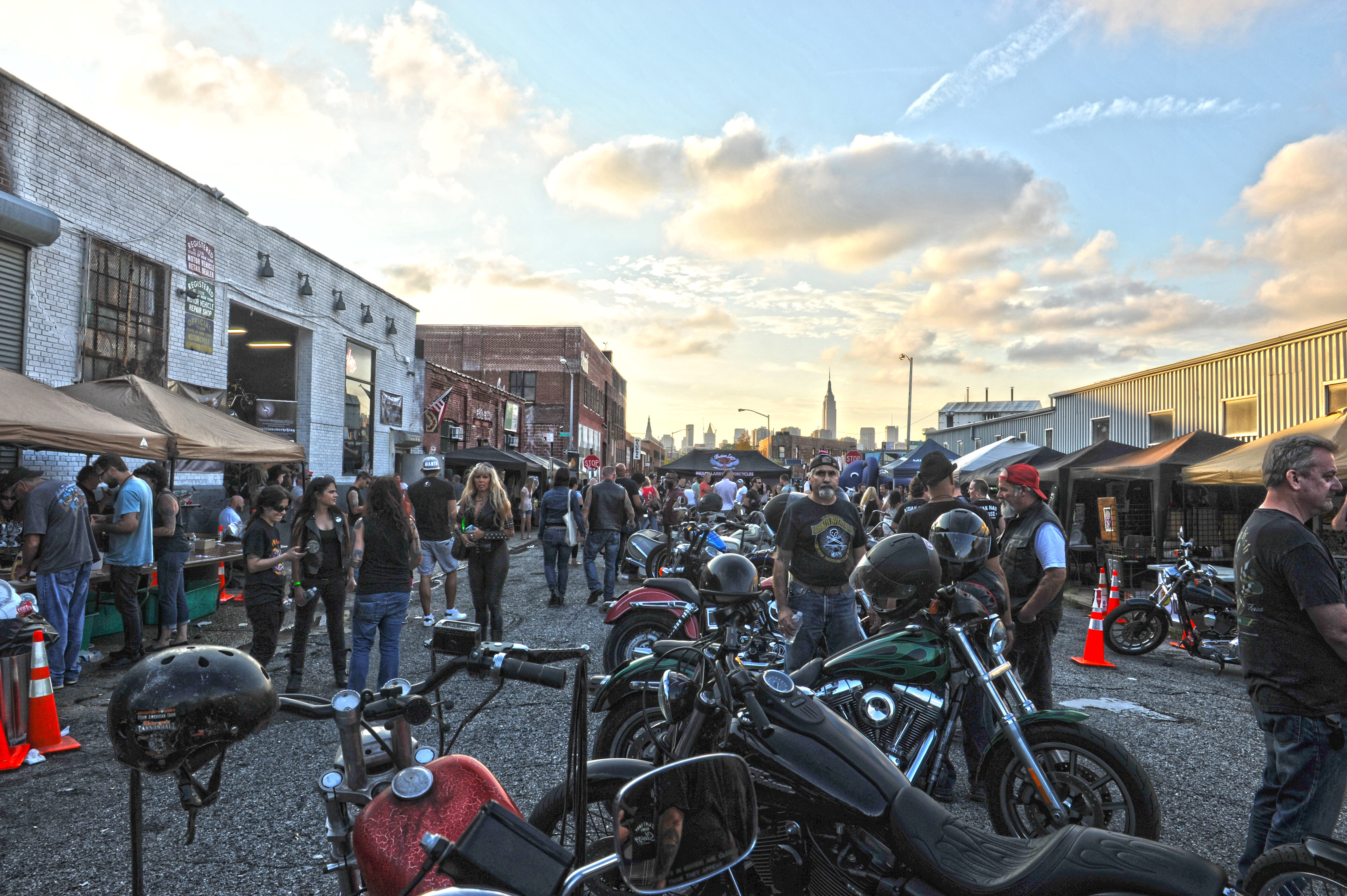THE 2015 INDIAN LARRY GREASE MONKEY BLOCK PARTY