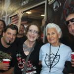 Gloria & fans