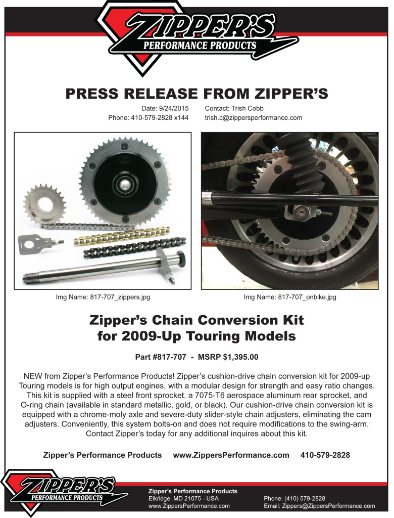 pressrelease_zipperschainconversionkit_cushiondrive