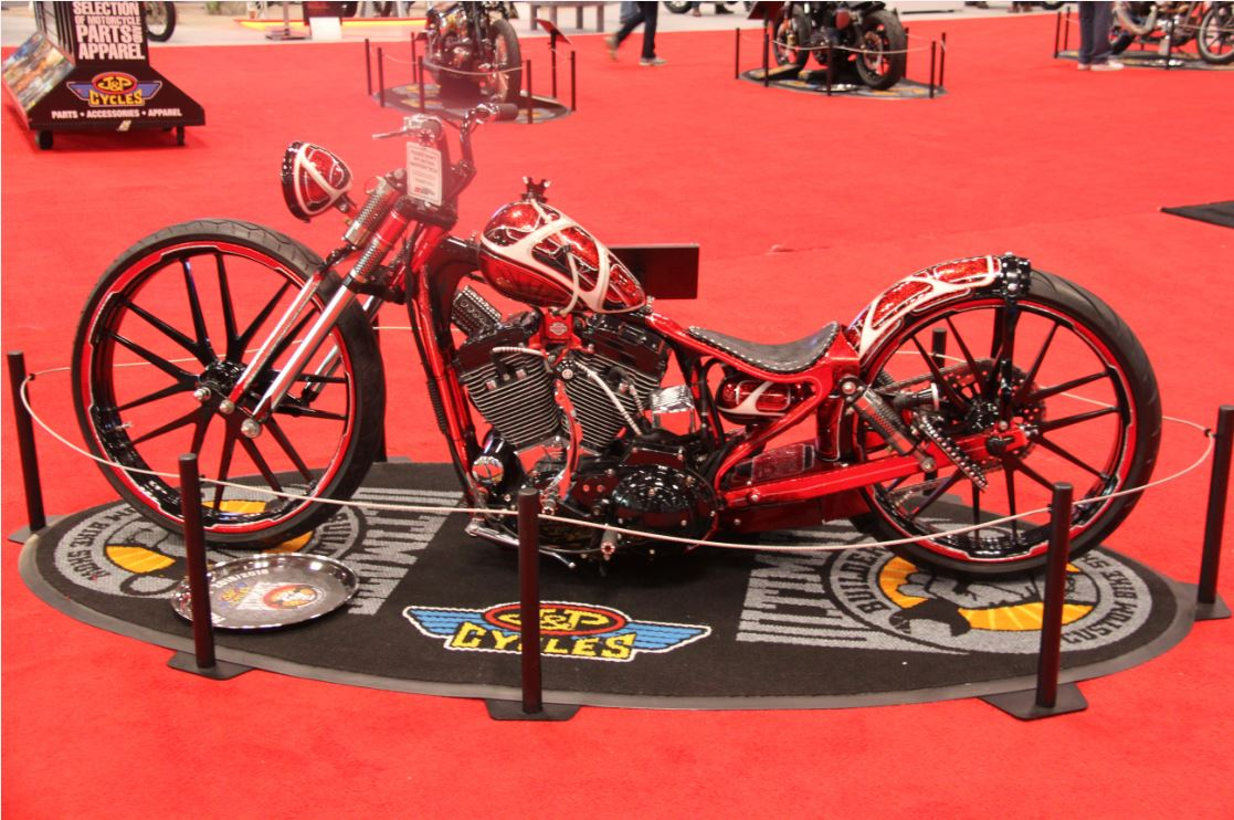 Chaos Cycle Wins the 2015 Round of the J&P Cycles Ultimate Builder Custom Bike Show