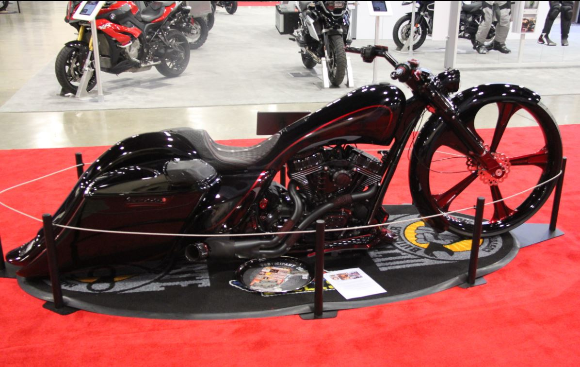 The J&P Cycles Ultimate Builder Custom Bike Show Rolled
