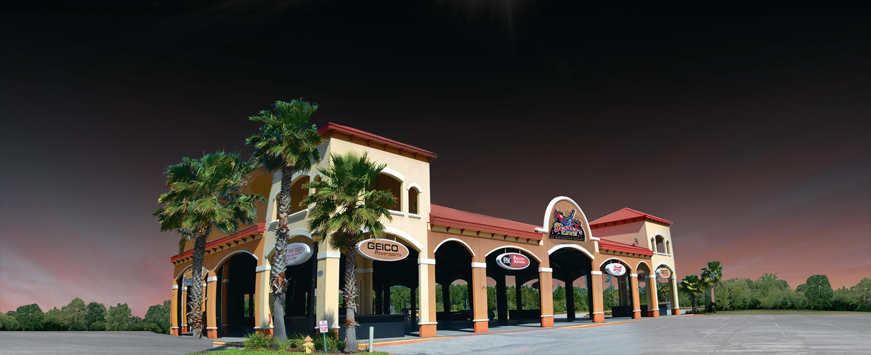 BRUCE ROSSMEYER'S DESTINATION DAYTONA ANNOUNCES THE OPENING OF JESTERS LIVE