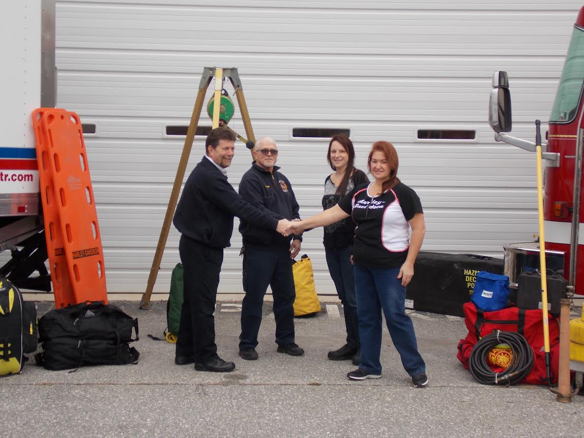 Harley-Davidson Partners with York County ATR & Fire School