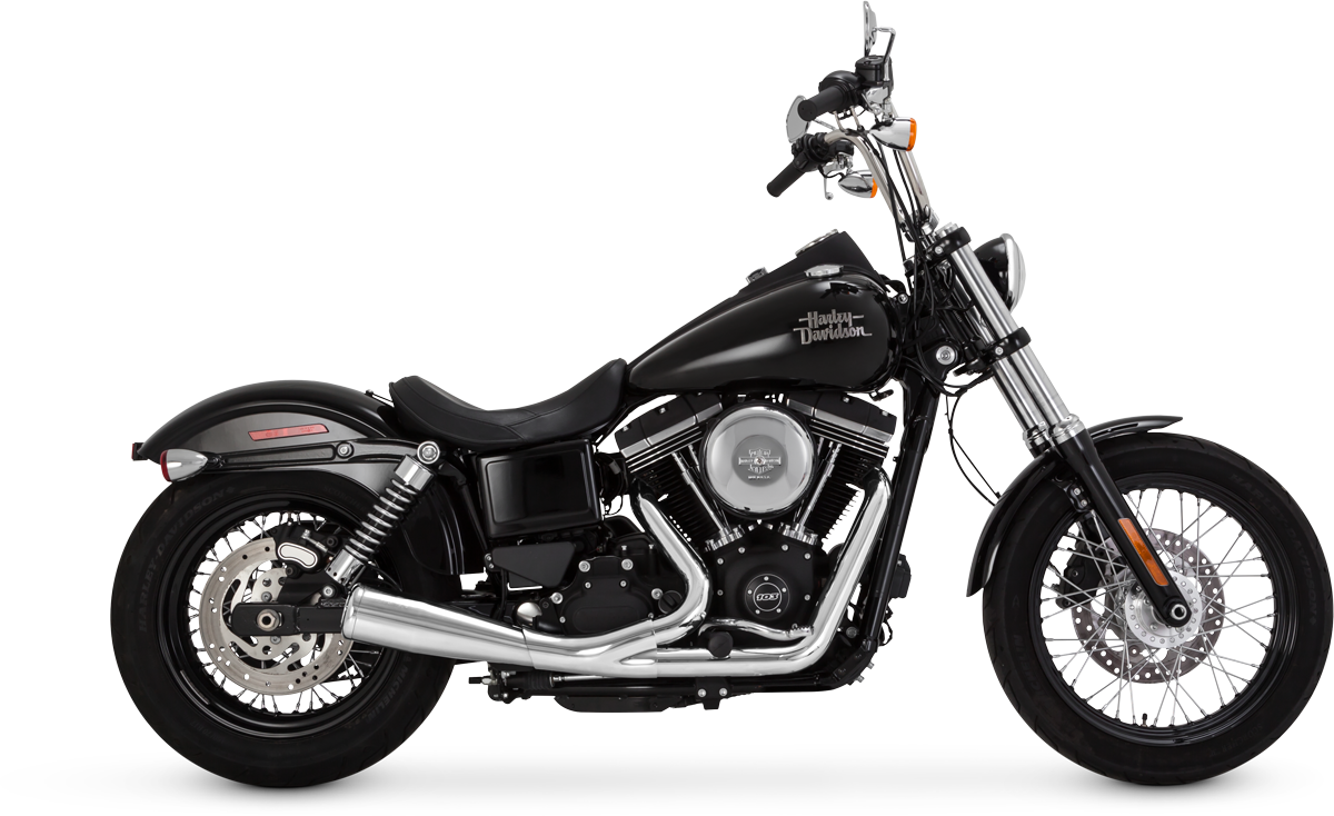 Vance & Hines is pleased to announce the introduction of the 2-into-1 Upsweep for Harley-Davidson Dyna and Sportster Models.