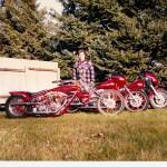 Donnie Smith 9 STDigger 80-81, FXR 87, Bagger 86