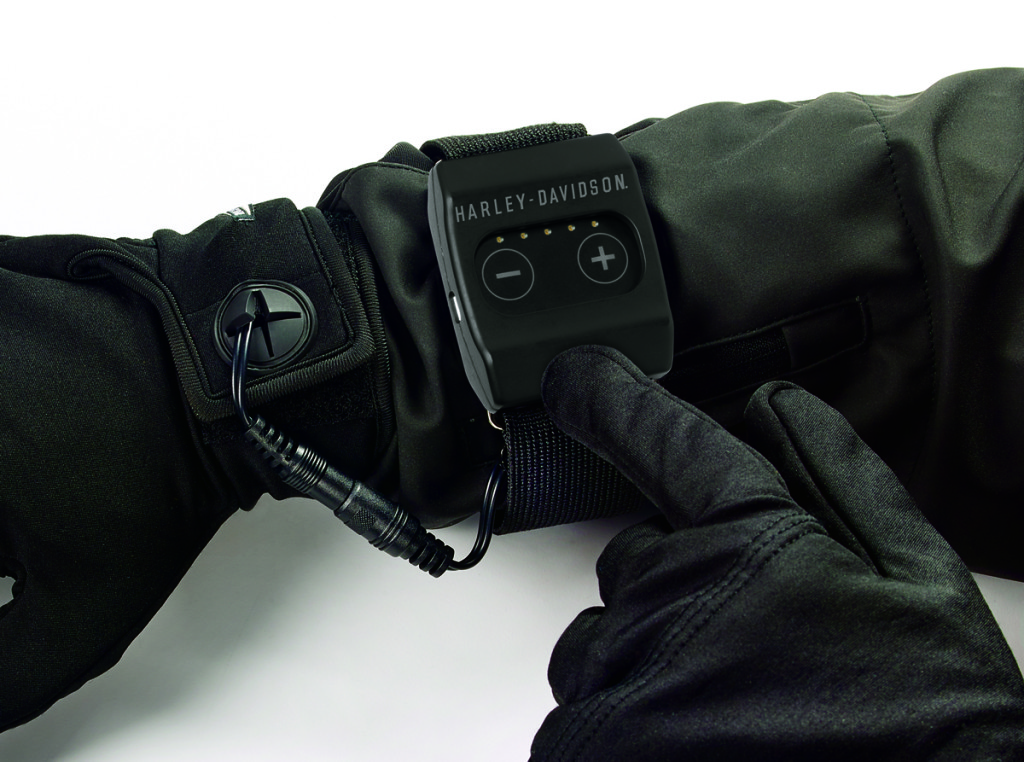 Heated One-Touch Wireless Wrist Controller