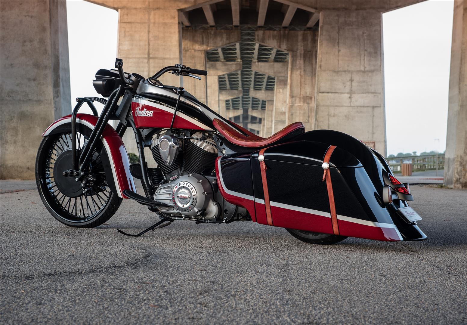 INDIAN MOTORCYCLE PRESENTS THE 'FRONTIER 111' CUSTOM SPRINGFIELD