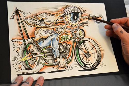 ATOMIC BOB'S Prison Art