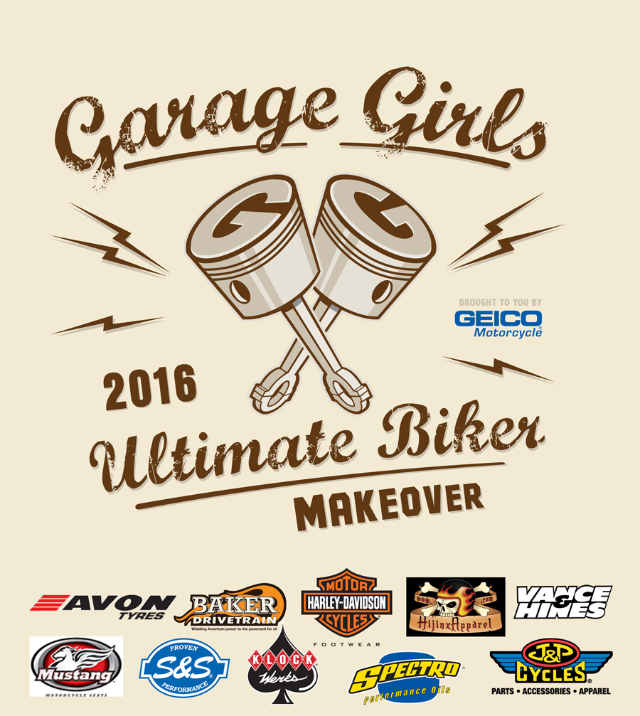 Garage-Girls Ultimate Biker Makeover Brought To You by GEICO Motorcycle Announces 2016 Winner!