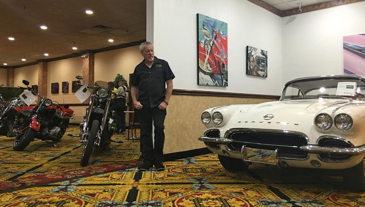 Show Cars, Motorcycles and Fine Art:  A new exhibit opens at Railroad Pass Casino