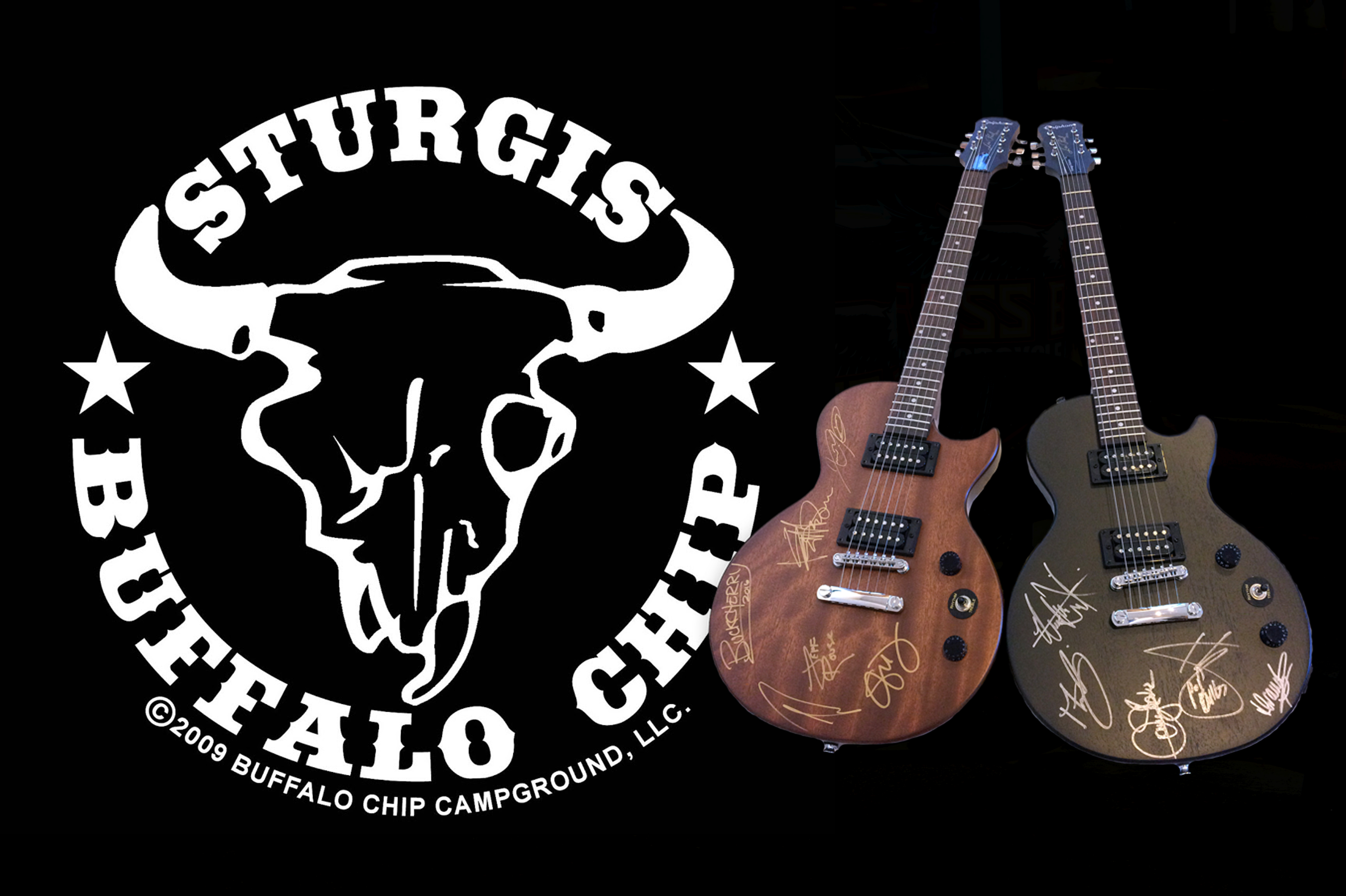 Buffalo Chip Fans to Win Autographed Guitars and Shopping Sprees