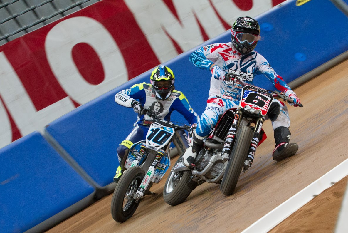 Marquez and Brindley top time charts in Superprestigio test