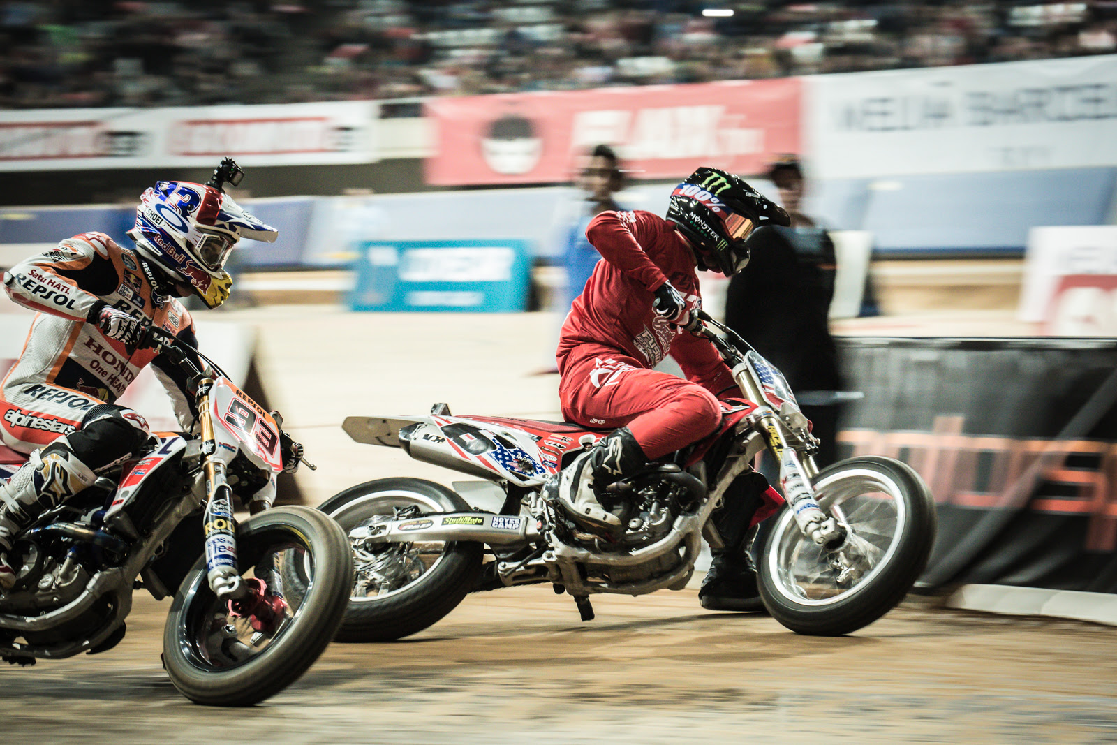 American Flat Track's Brad Baker slated to take on Marc Marquez at the Superprestigio