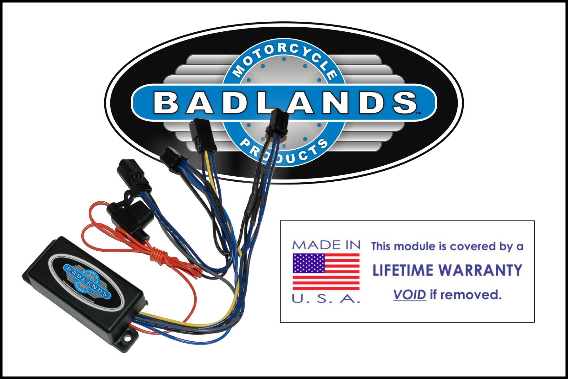 Badlands, the original lighting module company, established 1990.
