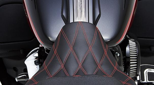 Widowmaker Saddle for 2009 – 2017 H-D Touring Models