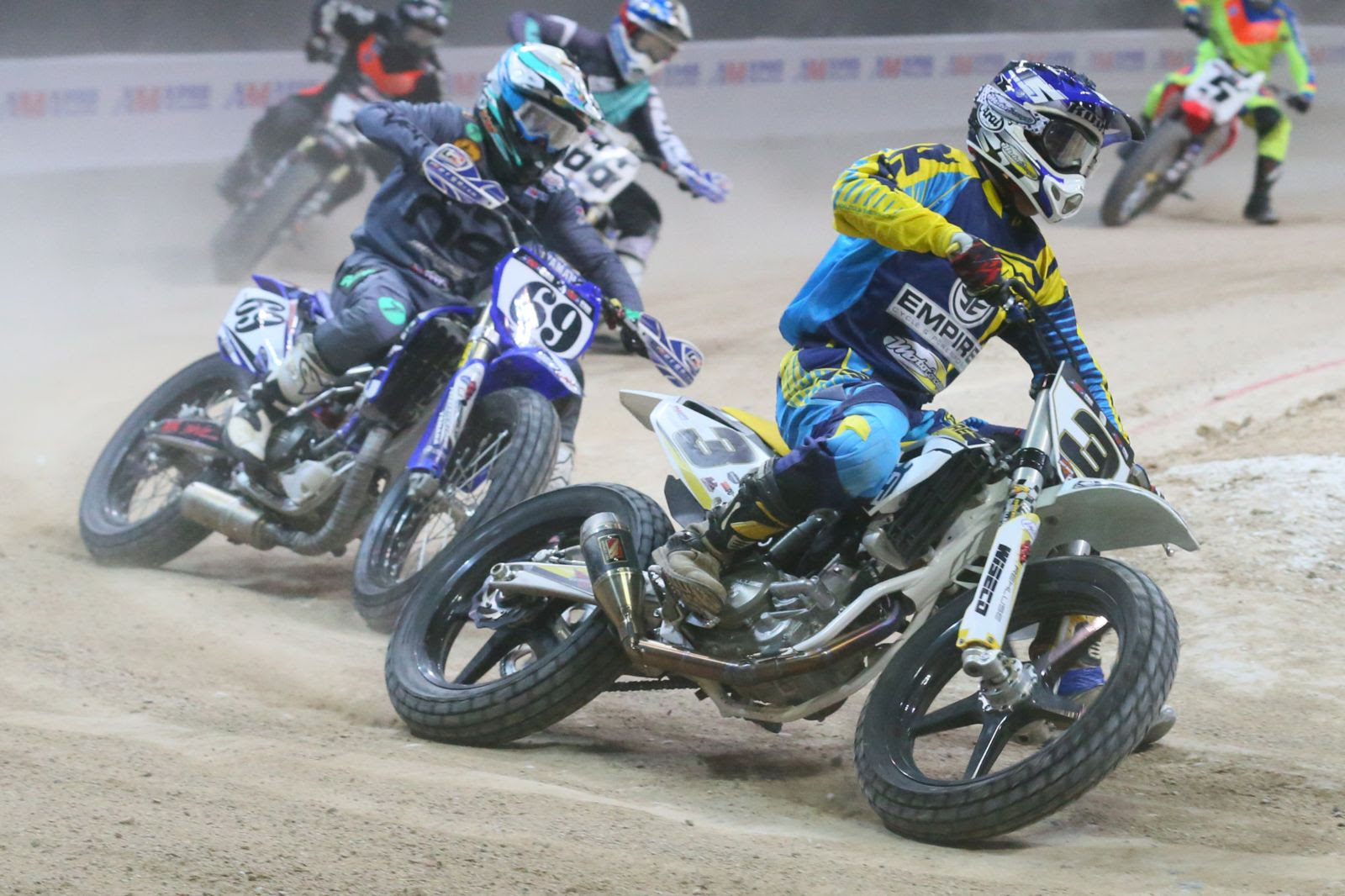 American Flat Track names Husqvarna Motorcycles as Official Motorcycle of AFT Singles