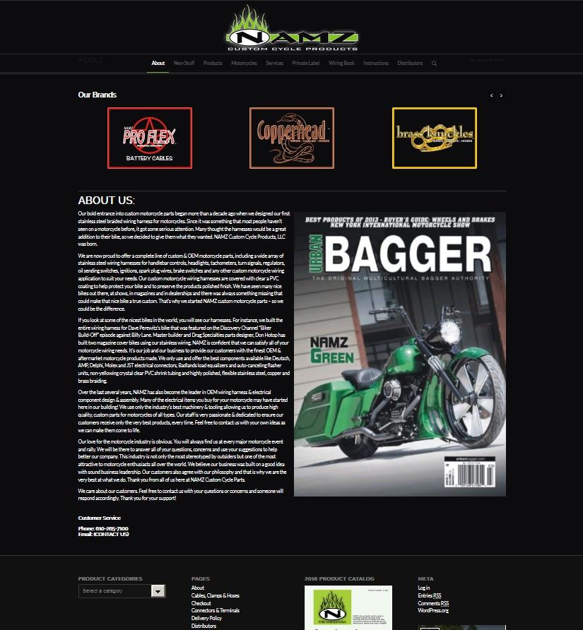 NAMZ Website