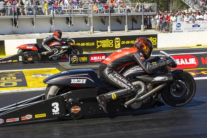 HARLEY-DAVIDSON DOMINATES NHRA PRO STOCK MOTORCYCLE OPENER IN GAINESVILLE