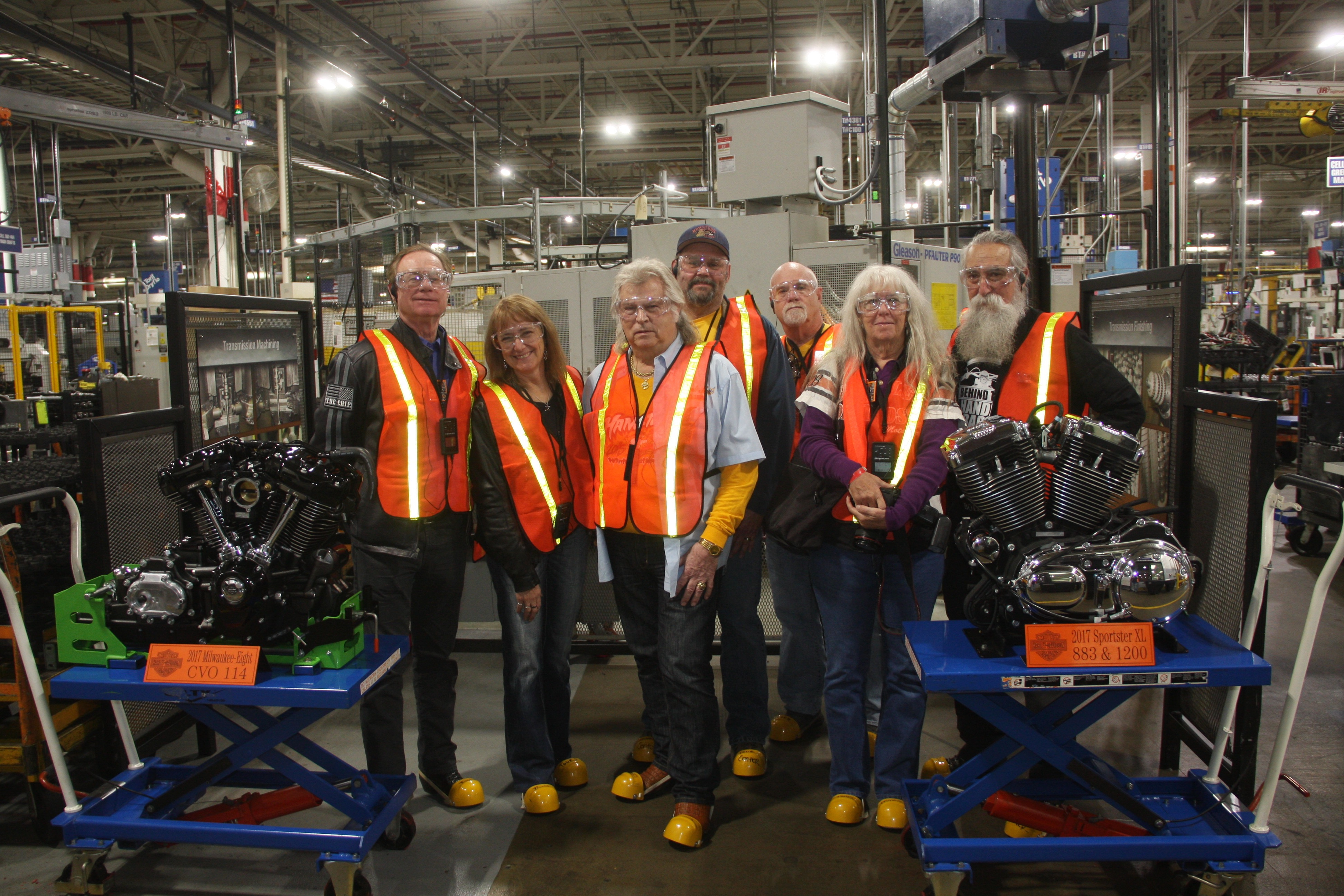 """Going """"Backstage"""" at the Harley-Davidson Museum & Powertrain Operations"""