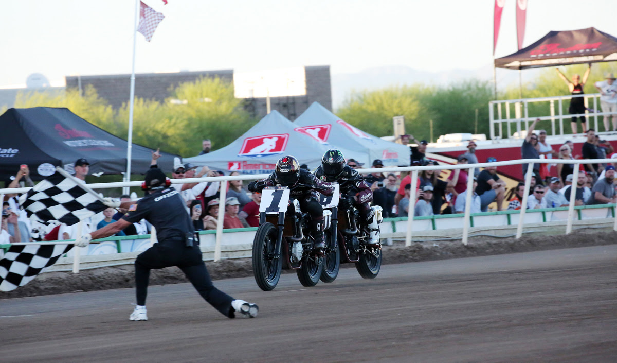 Bryan Smith Takes Another Mile Win In Five-Lap Shootout With Teammate Brad Baker
