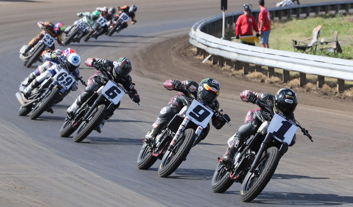 Bryan Smith Keeps Win Streak Rolling With Harley-Davidson Springfield Mile I Win