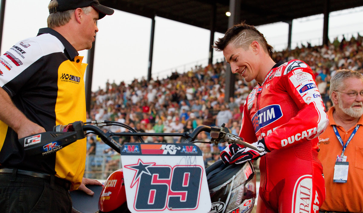 American Flat Track Community Mourns The Loss Of Nicky Hayden