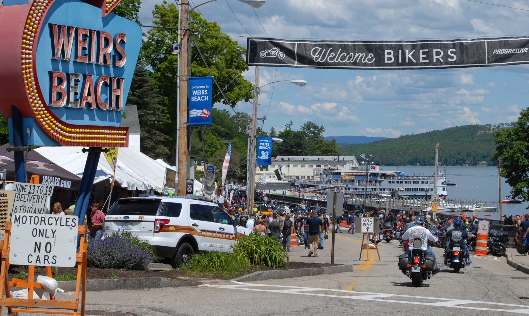 Progressive Laconia Motorcycle Week®:  A Long History