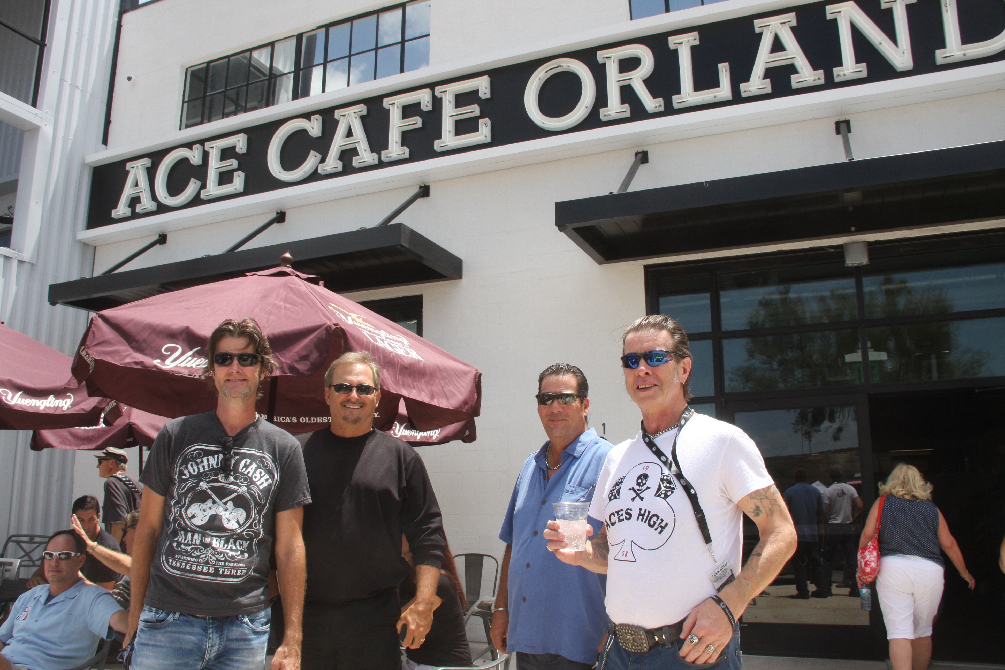 Speed Thrills and Tea Spills: Ace Café USA Opens in Orlando