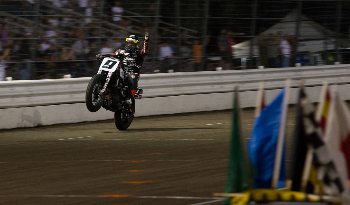 Jared Mees bags another dominant win at the Harley-Davidson Calistoga Half-Mile