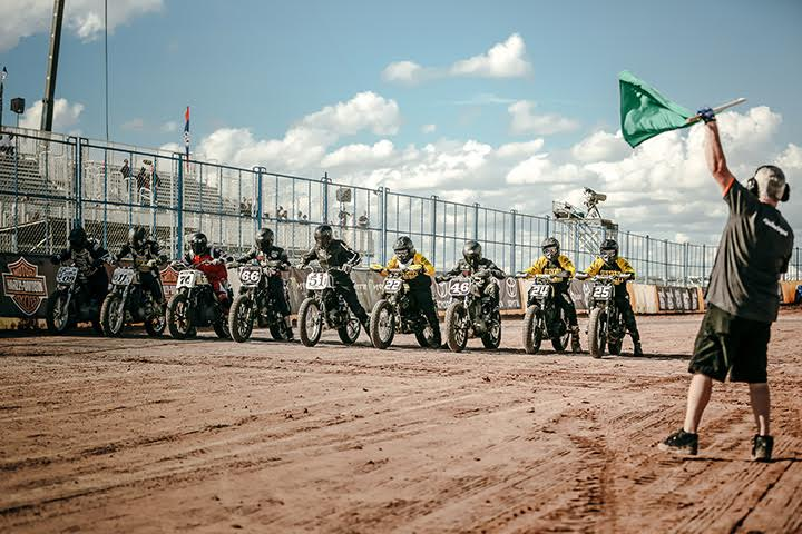 HARLEY-DAVIDSON PRESENTS THURSDAY NIGHT PRIME-TIME DIRT-TRACK DOUBLE-HEADER LIVE FROM X GAMES MINNEAPOLIS